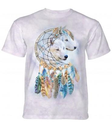 Tee-shirt Loups attrape rêves The Mountain