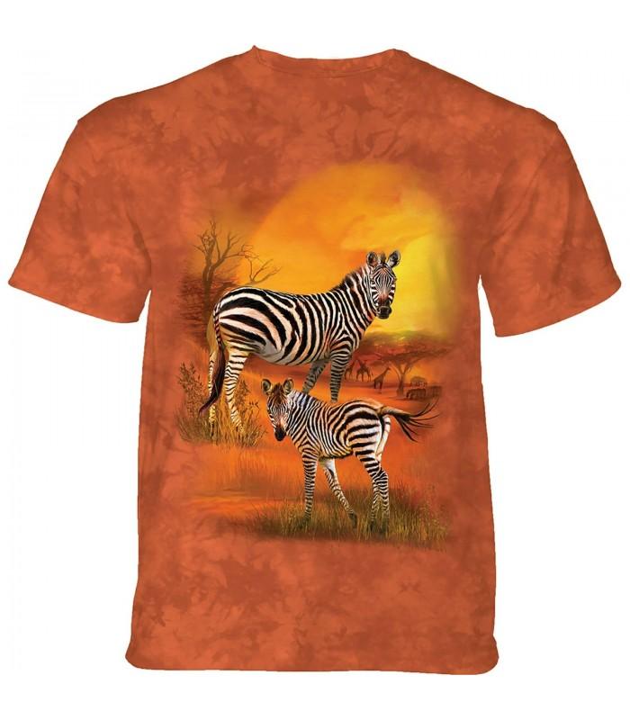 The Mountain Mama And Baby Zebra T-Shirt