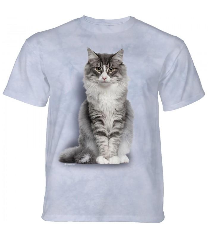 The Mountain Norwegian Forest Cat T-Shirt