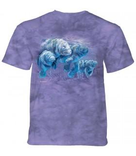 Tee-shirt Lamantins heureux The Mountain