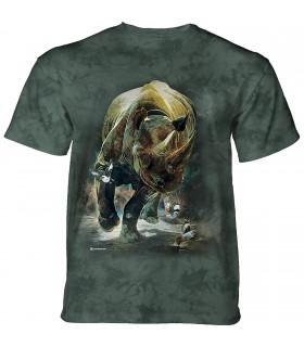 Tee-shirt Rhinocéros déchainé The Mountain