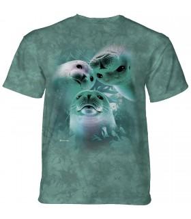 The Mountain Sea Lion Trio T-Shirt