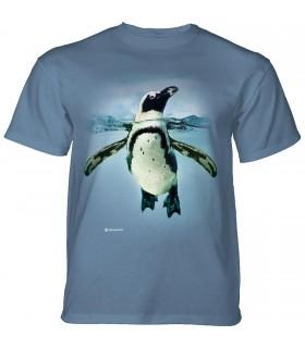 The Mountain Swimming Penguin T-Shirt