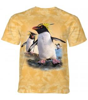 The Mountain Rockhopper Penguins T-Shirt