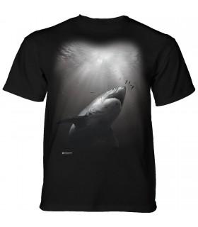 The Mountain Sunburst Shark T-Shirt