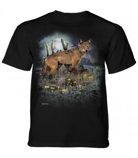 Tee-shirt Coyote du désert The Mountain