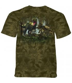 Tee-shirt Combat de dinosaures The Mountain