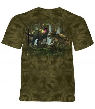 The Mountain dinosaur fight T-Shirt