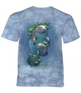 Tee-shirt Vache et veau de mer The Mountain
