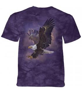 Tee-shirt Aigle Ciel Violet The Mountain