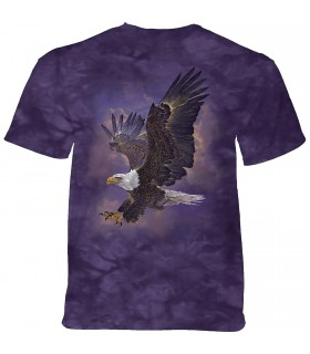 The Mountain Eagle Violet Sky T-Shirt