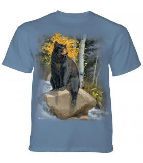 Tee-shirt Ours qui se rafraichit The Mountain