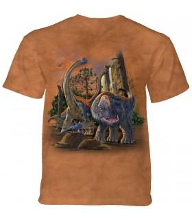 Tee-shirt Dinosaures The Mountain