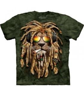 DJ Jahman Fumeur - T-Shirt Manimal par The Mountain
