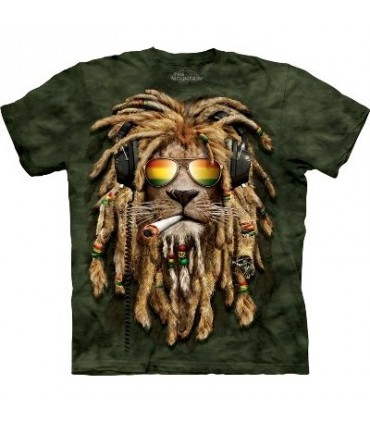 Smokin' Jahman Big Cat T'Shirt by The Mountain