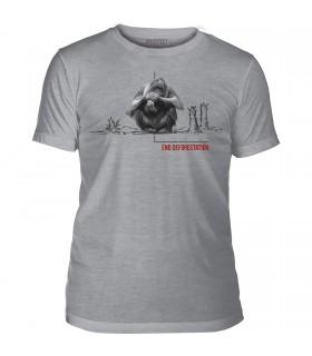 Tee-shirt Déforestation Orang-outan The Mountain