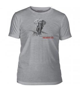 Tee-shirt Habitat Elephant The Mountain