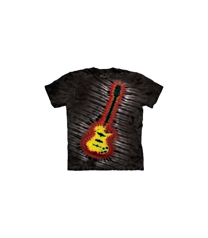 T-Shirt guitare électrique par The Mountain