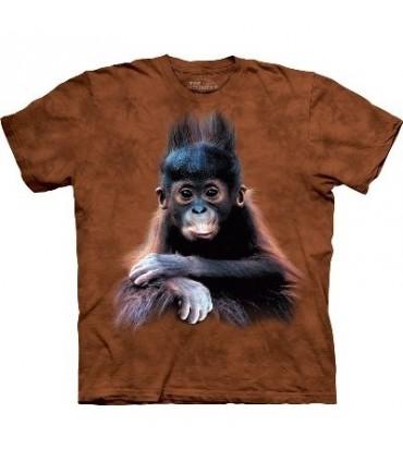 Orangutan Baby - Zoo Animals T Shirt by the Mountain