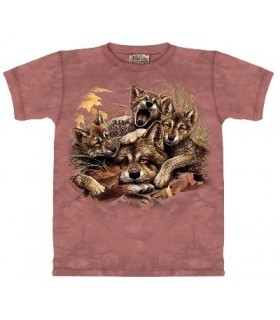 Rise n' Shine - Wolf Shirt Mountain