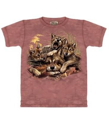 T-Shirt éveil des loups par The Mountain