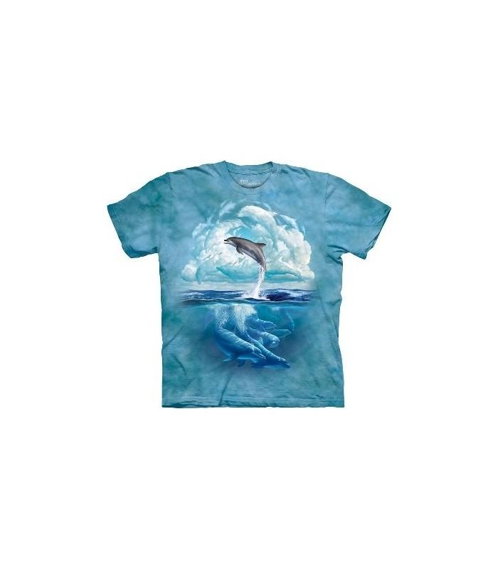 Dolphin Sky - Aquatics T Shirt by the Mountain