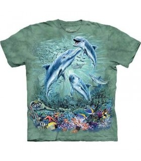 Find 12 Dolphins - Sealife T Shirt by the Mountain