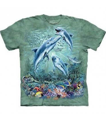 Trouver 12 dauphins - T-shirt Vie Marine The Mountain