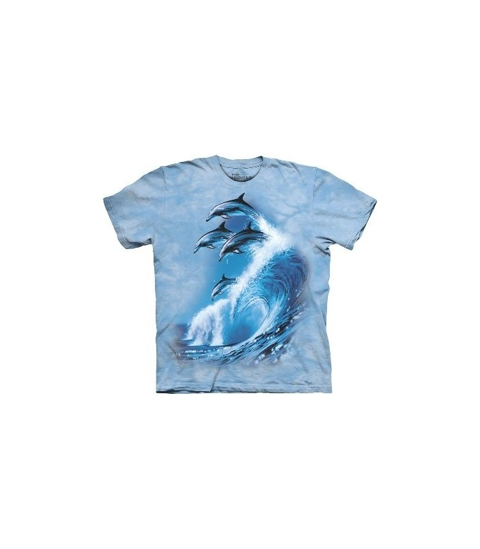 T-Shirt 4 dauphins par The Mountain