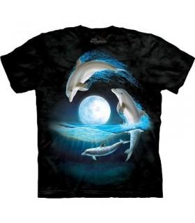 Autour de la Lune - T-Shirt Dauphin par The Mountain