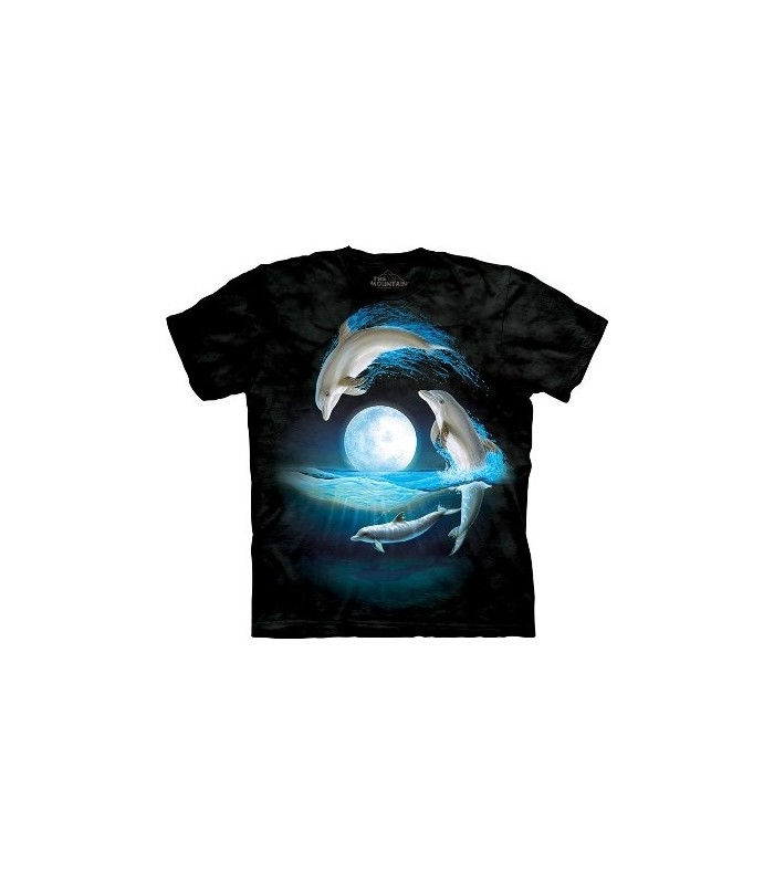 Autour de la Lune - T-Shirt Dauphin par The Mountain