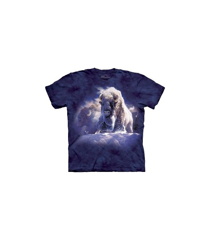 His Divine Presence - Bison T Shirt by the Mountain