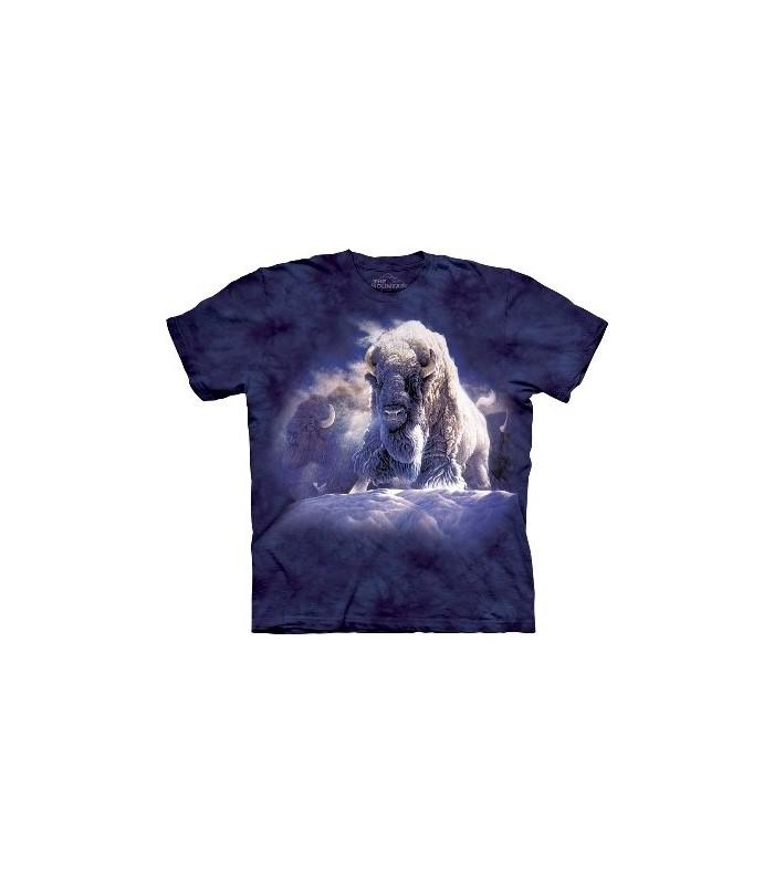 T-Shirt Bison Divine Présence par The Mountain