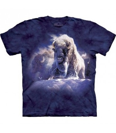 T-Shirt Bison Divine Présence par The Mountain