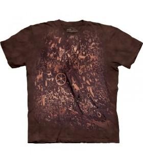 Petroglyph Wall - Indian Shirt Mountain