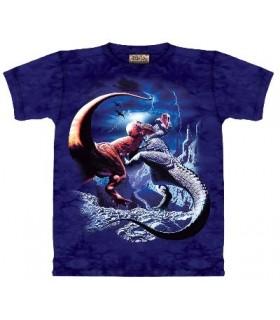 T-Shirt T-Rex combattants par The Mountain