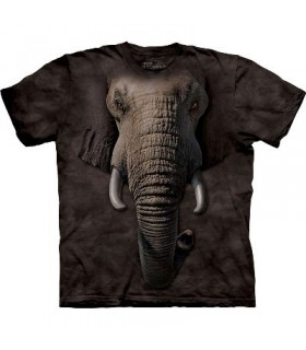 T-Shirt tête d'éléphant par The Mountain
