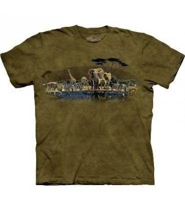T-Shirt lieu de rassemblement par The Mountain