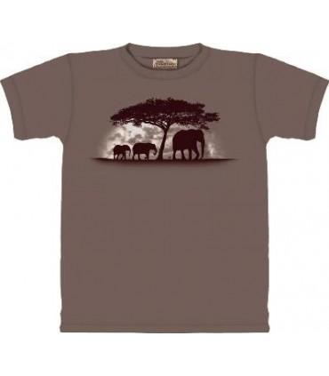 T-Shirt Défense d'Eléphant par The Mountain