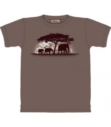 Tusk - Elephant T Shirt by the Mountain