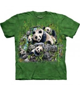 Trouver 13 Pandas - T-shirt Panda The Mountain