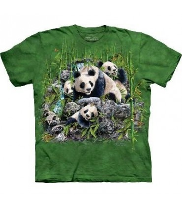 Find 13 Pandas - Panda T Shirt by the Mountain