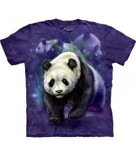 T-Shirt Pandas par The Mountain