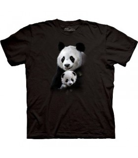 Panda Cuddle - Zoo Animals T Shirt by the Mountain