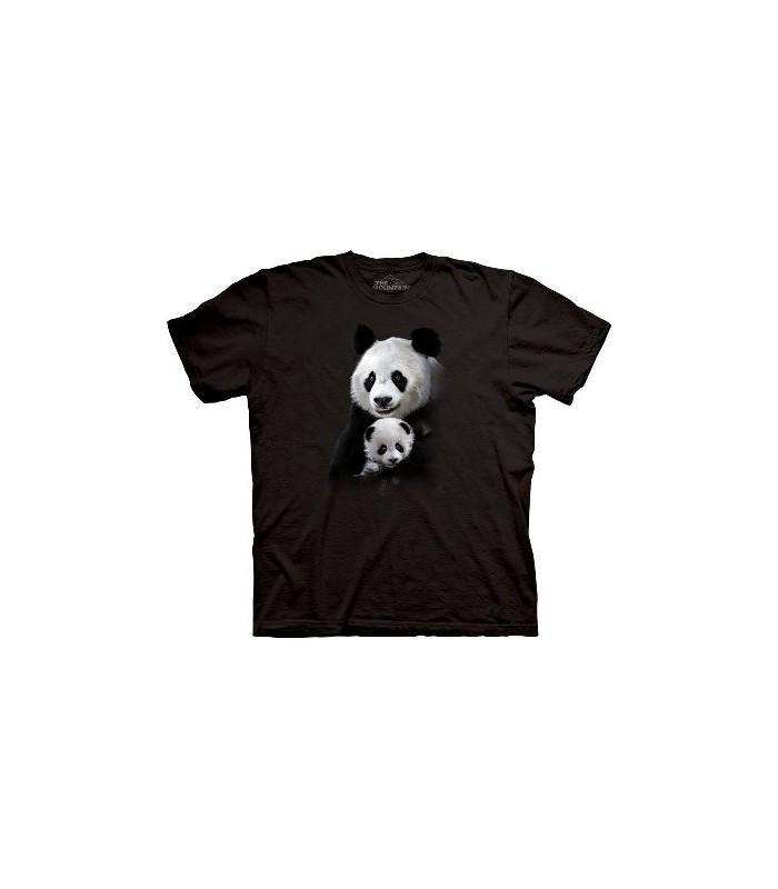 Panda Cuddle - Zoo Animals T Shirt by the Mountain