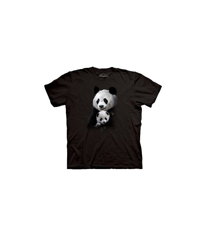 T-Shirt Panda Câlin par The Mountain