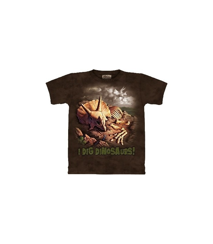 T-Shirt Fouilles de Dinosaures par The Mountain