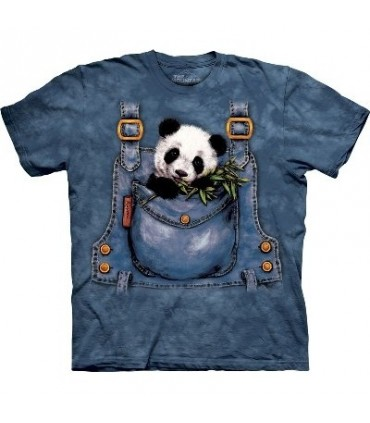 T-Shirt Salopette de Panda par The Mountain