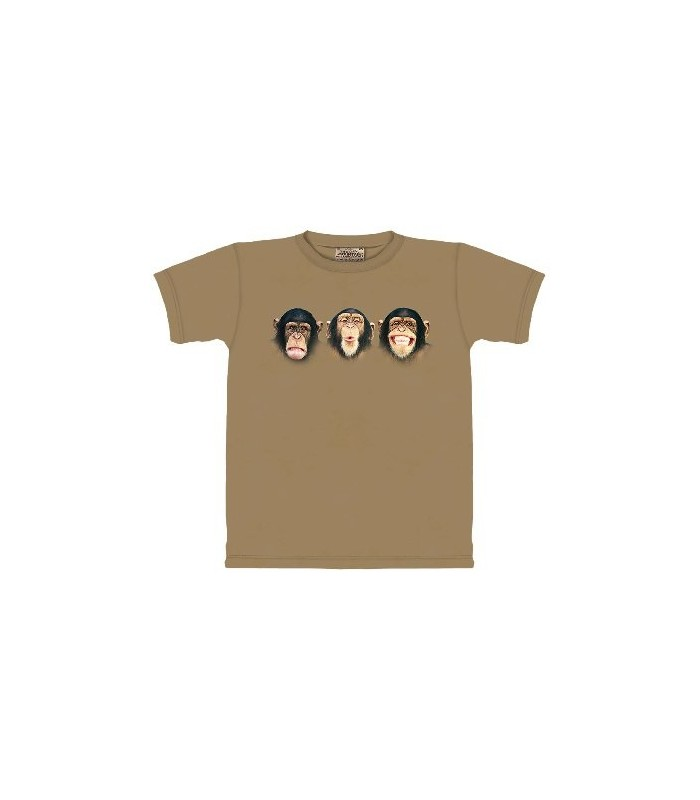 Comedy Routine - Monkey T Shirt by the Mountain