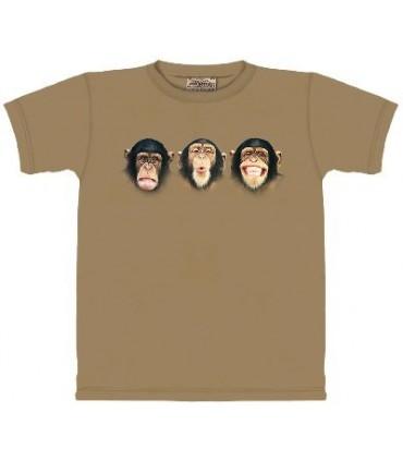 T-Shirt les Singes jouent la comédie par The Mountain